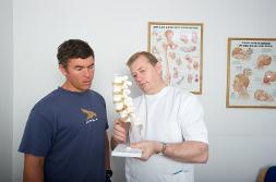 Osteopathy Teaching Mentor (image copyright GOsC)